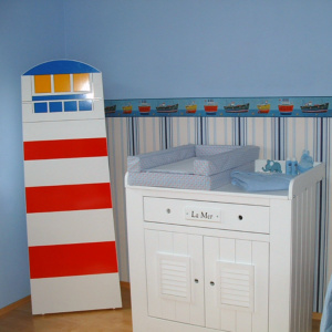 Seefeeling in child's room